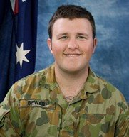 Private Nathan Bewes Killed in action on 09 July , 2010 Aged 23