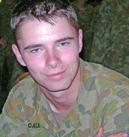 Private Tomas Dale Killed in action on 20 August , 2010 Aged 21