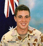 Private Benjamin Ranaudo Killed in action on 18 July , 2009 Aged 22